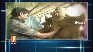Eco Friendly Clay Ganesh Getting Ready For Ganesh Chaturthi | iNews