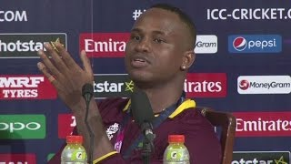 Samuels roasts Stokes and Warne - Sports News Video