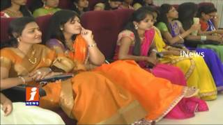 Medicos Traditional Fashion Show in Warangal | iNews