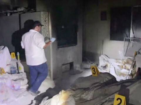 Raw- Abandoned Bodies Found at Funeral Home News Video