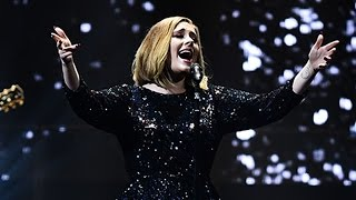 Adele Hilariously Bullies a Couple Into Getting Engaged