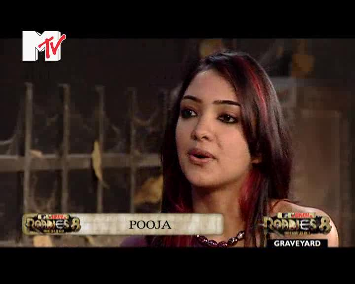 MTV Roadies Season 8 Graveyard 15 Episode 42 - Pooja