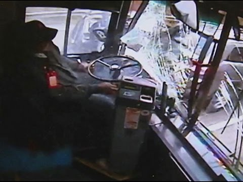 Raw- Video Released of Michigan Bus Crash News Video
