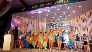 भारी ठंड के बावजूद होली महोत्सव की पहली शाम नाटी किंग कुलदीप के नाम