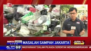 Warga Tambora Keluhkan Tumpukan Sampah di Perumahan