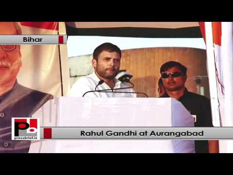 Rahul Gandhi - We treat everyone equally and we want to work for the welfare of all sections