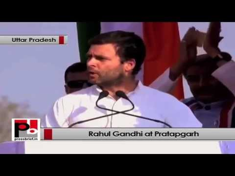 Rahul Gandhi- Congress wants to generate jobs for youth