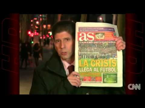 Racing Santander banned over protest News Video