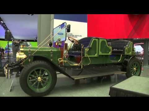 Horseless Carriage Introduced at NY Auto Show News Video