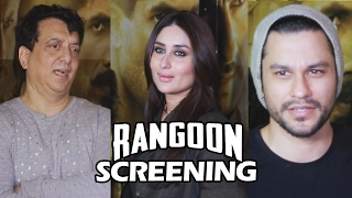 Rangoon Movie Screening | Full HD Video | Kareena Kapoor, Kunal Khemu, Sajid Nadiadwala