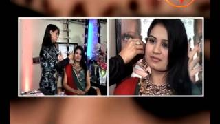 Attractive Make Up With Bindi - Bridal Bindi Styles - Pooja Goel (Beauty Expert)