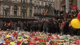 Belgians Pause to Remember Attack Victims News Video