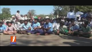 Sye Movie Scene Repeats In Sunnipenta | Students Fight Against Govt For Playground | iNews