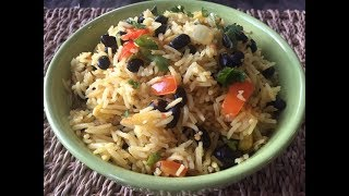 How to make Southwestern Style Rice | Easy Rice Recipe