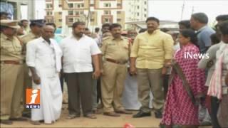 2 Killed As Lorry Crashes People In Ganesh Nagar  | Vijayawada | iNews