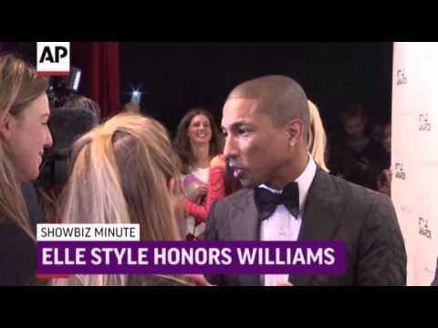 ShowBiz Minute- Brits, Elle Style, Box Office News Video