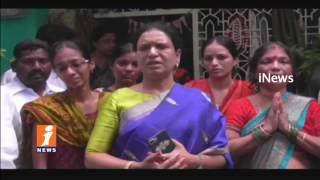 Congress DK ARuna Visitation Doctor Srikanth Family   Srikanth Goud Kidnapped In Delhi   iNews