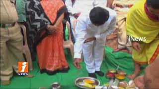 Minister jagadish Reddy Lay Foundation Stone For SUB Divisional Police Officer In Suryapet | iNews