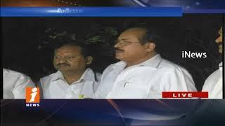 Telangana TDP Leaders Speaks To Media After Meets Ends With CM Chandrababu Naidu | Amaravati | iNews