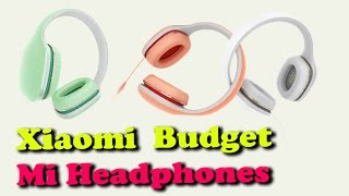 Xiaomi Launches Budget Mi Headphones - Rectv India