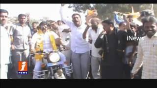 Balakrishna Bullet Bike Rally at Hindupur  | Jana Chaitanya Yatra | iNews