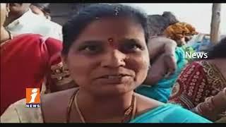 Heavy Rush Of Devotees At Yadadri Sri laxmi Narasimha Swamy Temple | iNews