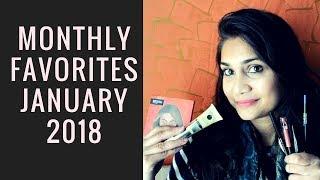 Monthly Favorites January 2018 | Affordable Makeup Under rs. 1000 | Nidhi Katiyar