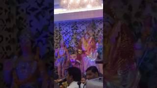 Nach  baliye teri jai kar - Bhajan by Krishna ji  Painting show by Nandlal  9990001001, 9211996655