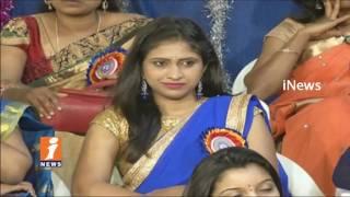 Lalitha Kala Sravanthi Awards 2017   Awards Presents To iNews Anchor Mounika & Reporter Ramadevi