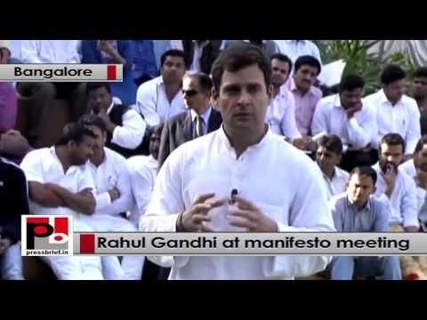 Rahul Gandhi- We have unleashed the aspirations for the youngsters