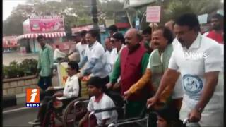 International Day of Disabled Persons Walk in Necklace Road | Jupalli Participated| iNews