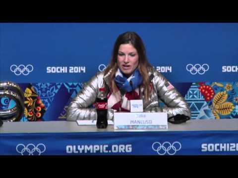 Mancuso Makes History in Sochi News Video