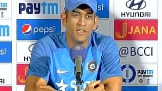 I enjoyed the journey- Dhoni on captaincy