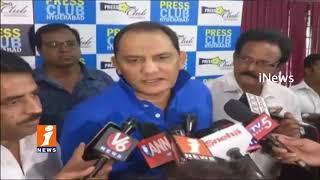 Cricketer Mohammad Azharuddin Comments On Hyderabad Cricket Association | iNews