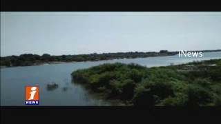 Man Falls Into Ganapuram Check Dam While Crossing Dam | Medak | iNews