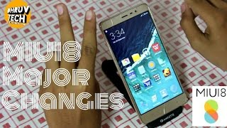 [HINDI] MIUI8 Major Changes In Redmi Note 3