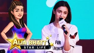 Alia Bhatt LAUNCHES Her Game 'Alia Bhatt- Star Life'
