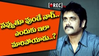 Nagarjuna Depressed over Akhil's Life | 2017 latest film news updates gossips | RECTV INDIA