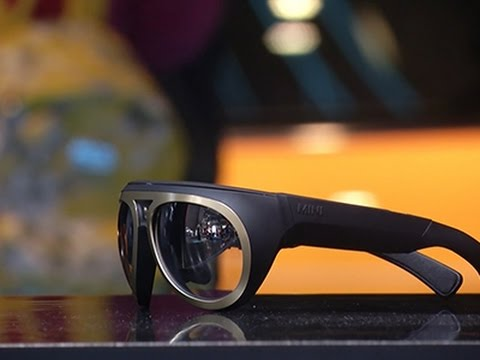 MINI Shows Off Augmented Reality Glasses News Video