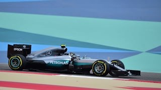 Nico Rosberg, Mercedes Rule Opening Bahrain Practice - Sports News Video