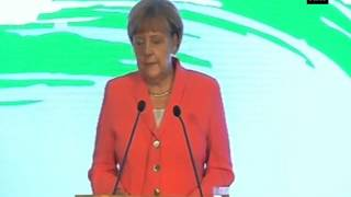 Angela Merkel addresses business forum, pitches for stronger Indo- German relations (Part - 1)