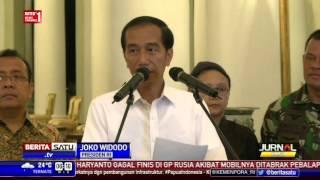 Pernyataan Jokowi Terkait Pembebasan 10 Sandera Abu Sayyaf