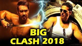 Ajay Devgn Vs Akshay Kumar's Biggest Clash In 2018