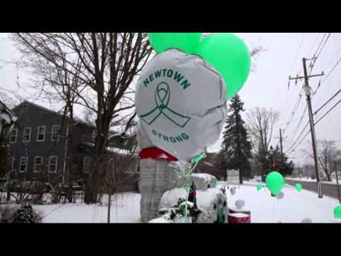 Raw: Bells Toll in Newtown for 26 Victims News Video