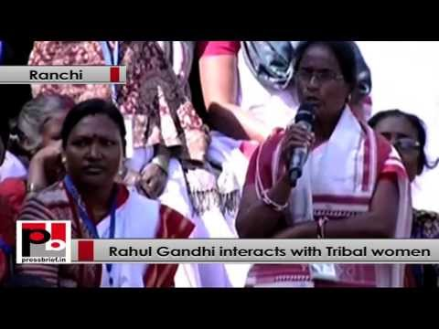 Rahul Gandhi's interactive session with Tribal women in Jharkhand