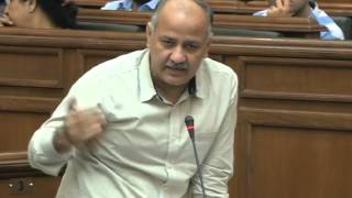 Dy CM Manish Sisodia discusses about unauthorized colonies and better infrastructure to students