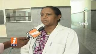 Mother and Just Born Boy Died in Karimnagar Govt Hospital | Doctors defends | iNews