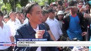 """Jokowi: """"Reshuffle"""" Itu Hak Prerogatif Presiden"""