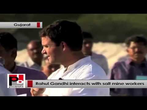 Rahul Gandhi- Congress has given RTI, Right to Food and Right to Education