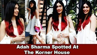 Actress Adah Sharma Spotted At The Korner House With Friends
